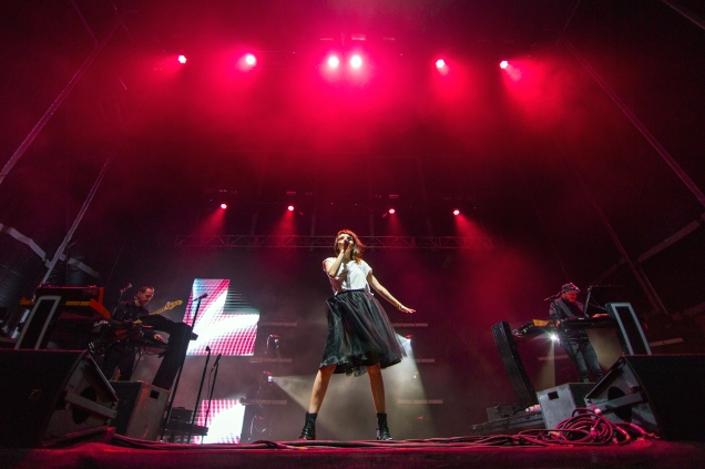 chvrches at Treasure Island