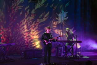 Matt Corby and Phoebe Bridgers at the Fillmore