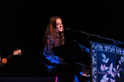 Birdy and Lawrence Taylor at the Fillmore in San Francisco