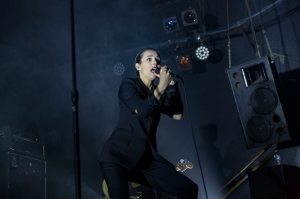 savages played the Catalyst club in Santa Cruz, California with A Dead Forest Index
