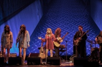 Jenny Lewis and the Watson Twins, with Ben Gibbard, at the Masonic in San Francisco