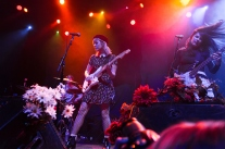 Bleached opened for the Damned at the Fillmore San Francisco April 11, 2017