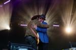 Gary Clark, Jr. with Booker T. Jones at Monterey Pop 50 2017