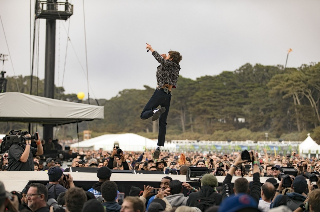 Cage the Elephant @ Outside Lands 2017
