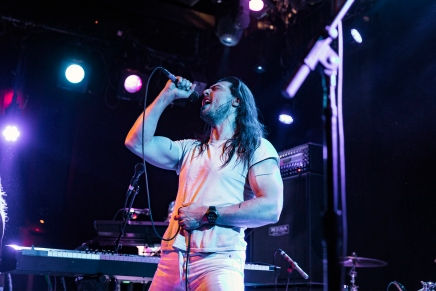 Andrew W.K. at the Independent in San Francisco