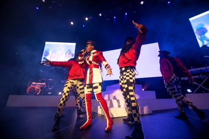 janelle monae and st. beauty at the Masonic in San Francisco