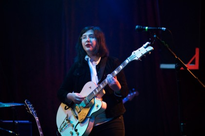 LUCY DACUS performs at the Rickshaw Stop in San Francisco, California