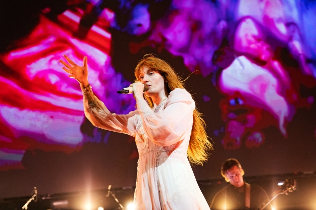 florence and the machine Not So Silent Night san jose
