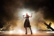 Chvrches live at the Greek Theatre at UC Berkeley